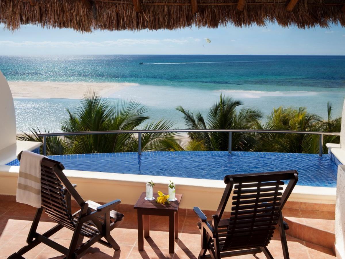 El Dorado Maroma Riviera Maya Mexico - Infinity Pool Jacuzzi Suite