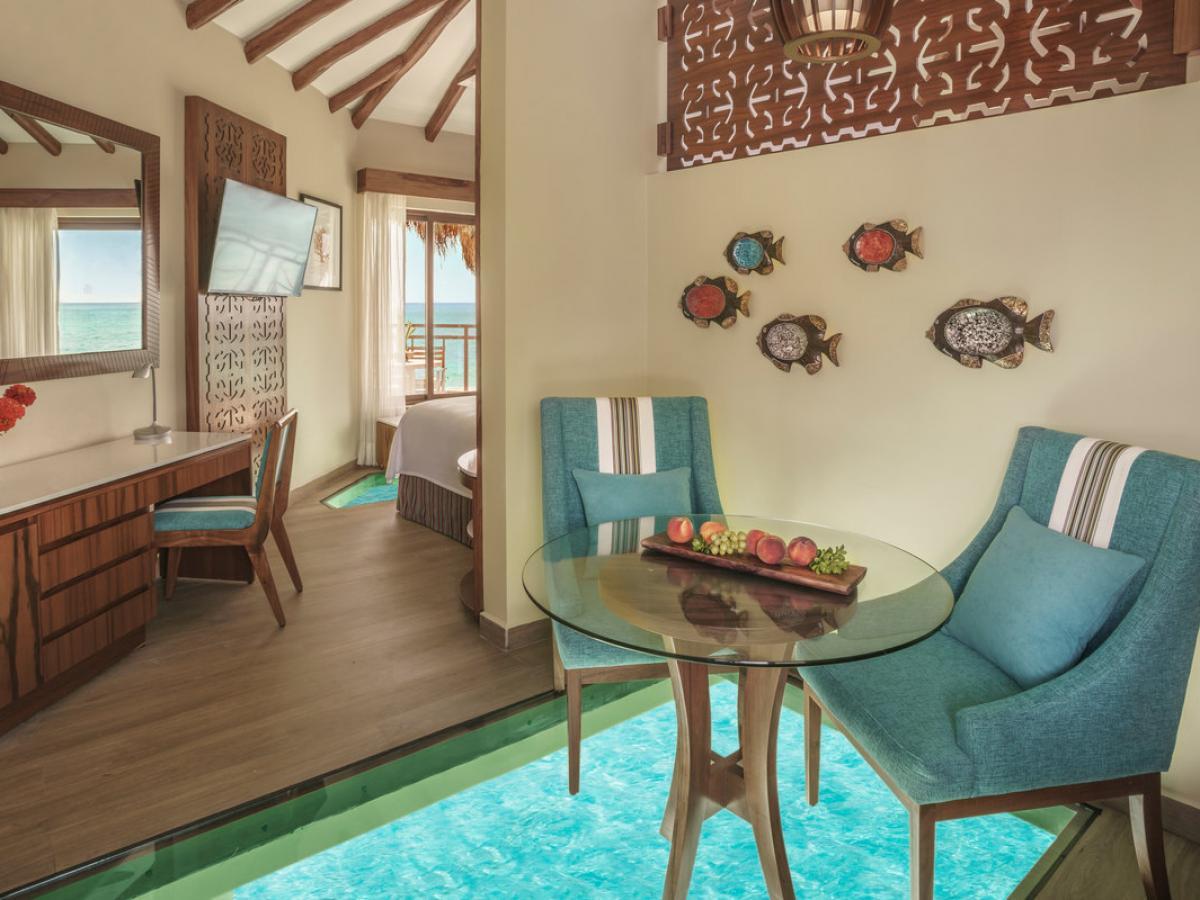 El Dorado Maroma Riviera Maya Mexico - Overwater Bungalows