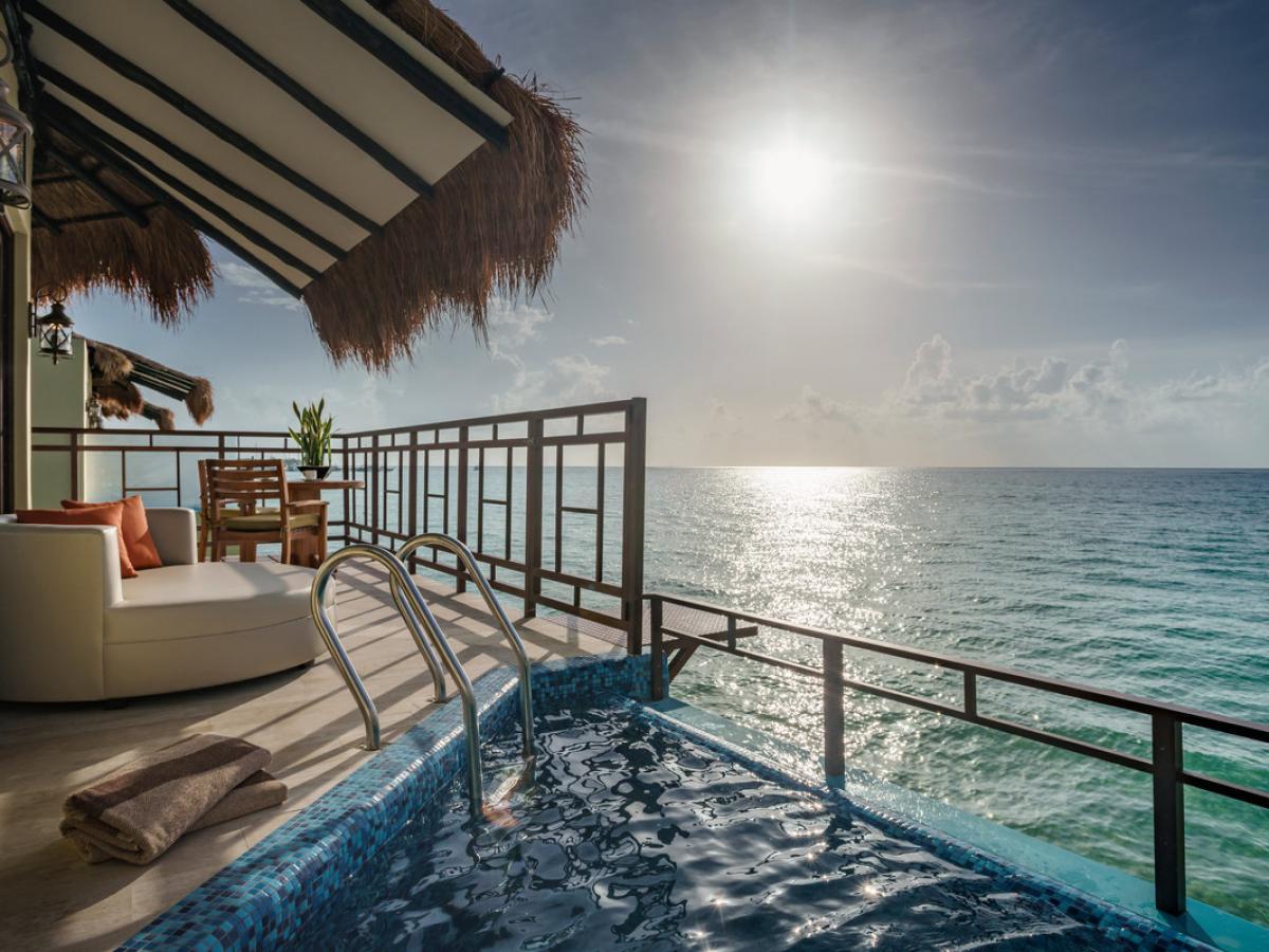 El Dorado Maroma Riviera Maya Mexico - Elite Overwater Bungalows