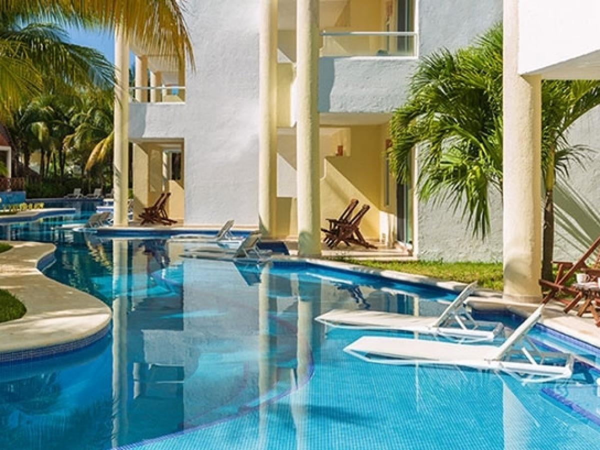 El Dorado Sensimar Riviera Maya Mexico - Swim Up Jacuzzi Junior Suite