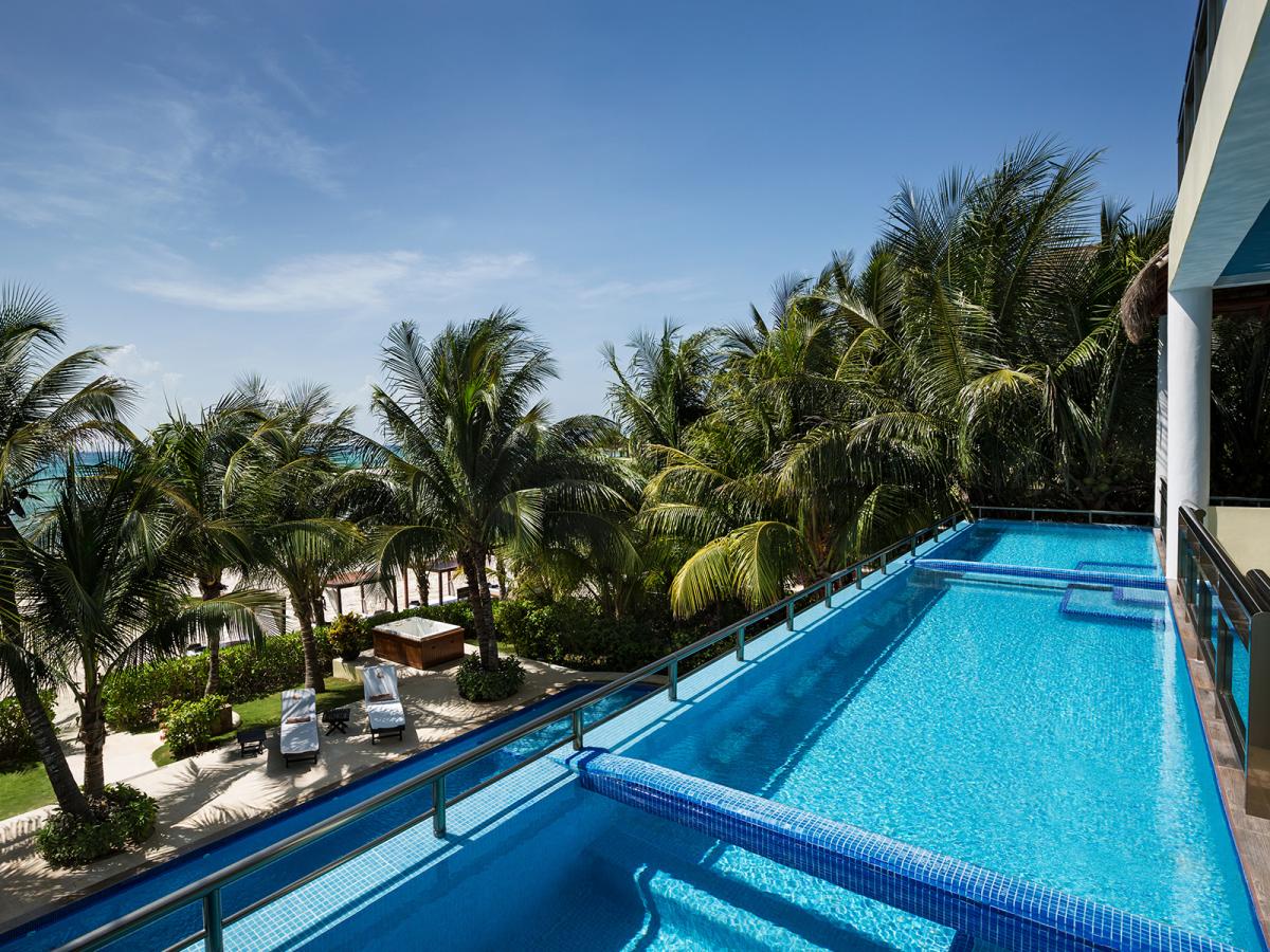 Villa Maroma Riviera Maya Mexico Swim Out Pool jpg