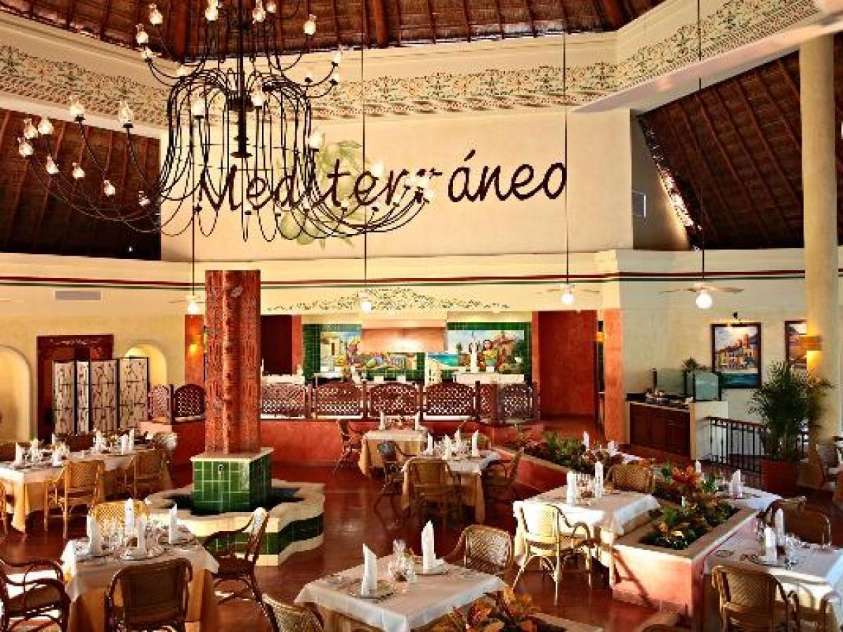 Gran Bahia Principe Coba Riviera Maya Mexico - Mediterranean Restaurant