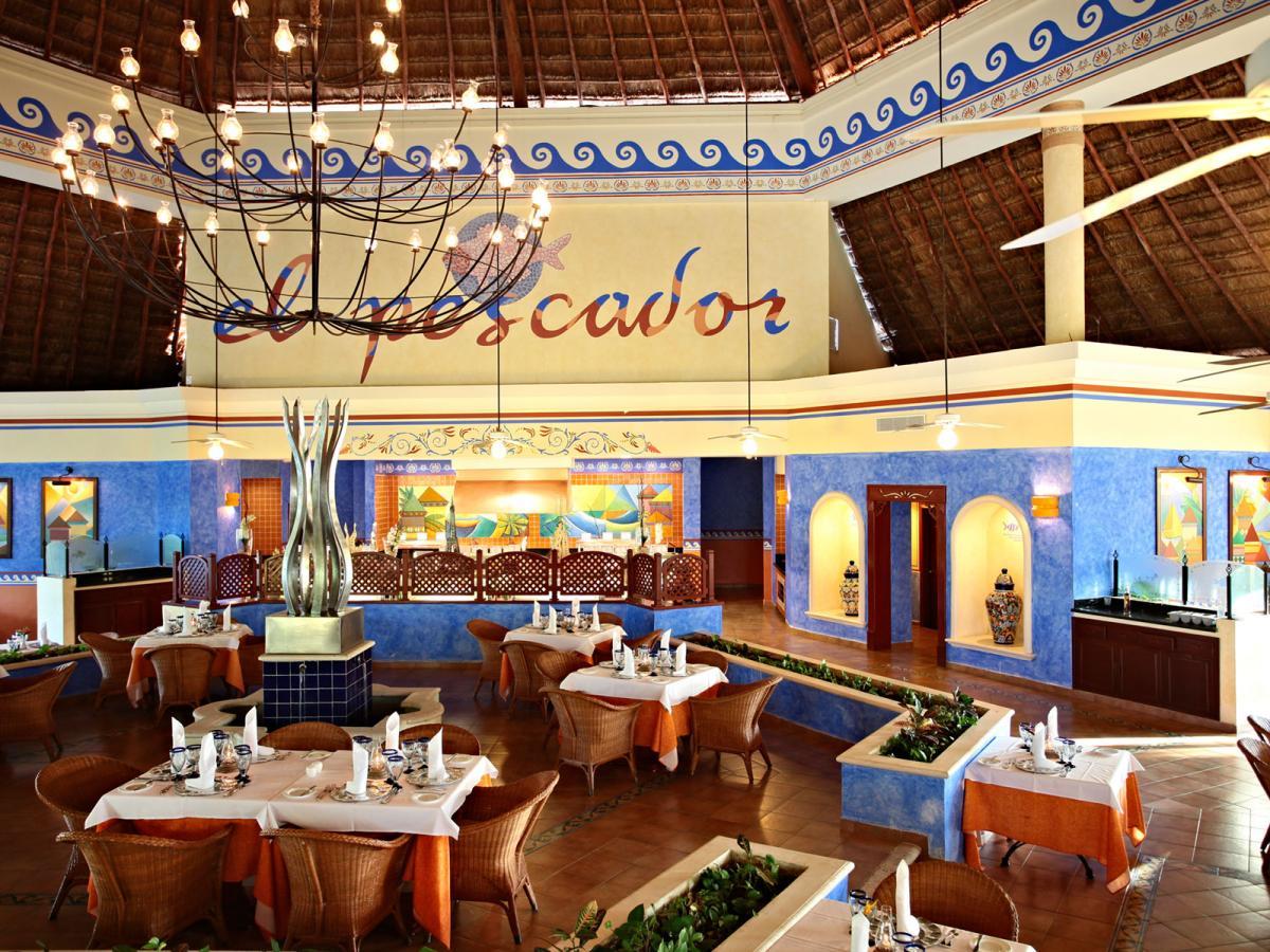 Gran Bahia Principe Coba Riviera Maya Mexico - Pescador Restaurant