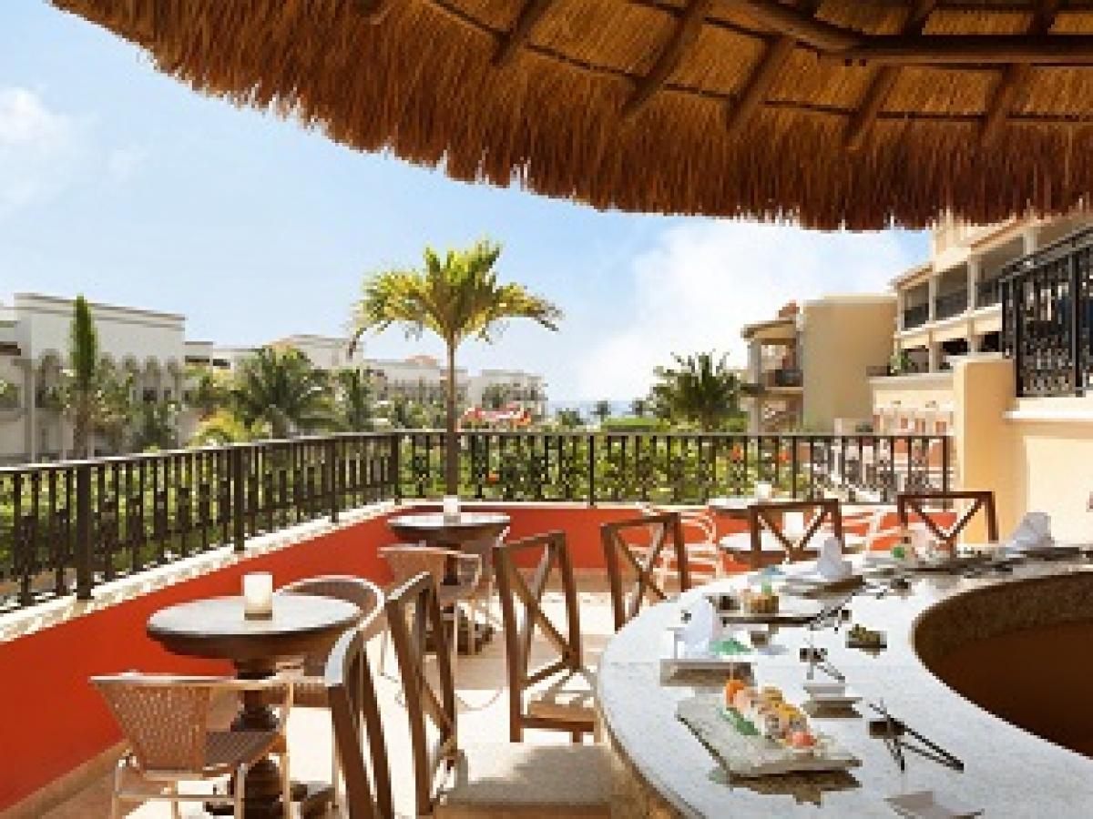 Gran Porto Resort & Spa Riviera Maya Mexico - Health & Sushi