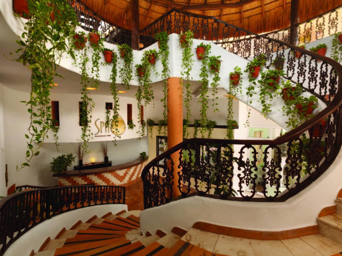 Gran Porto Resort & Spa Riviera Maya Mexico - Spa Entrance
