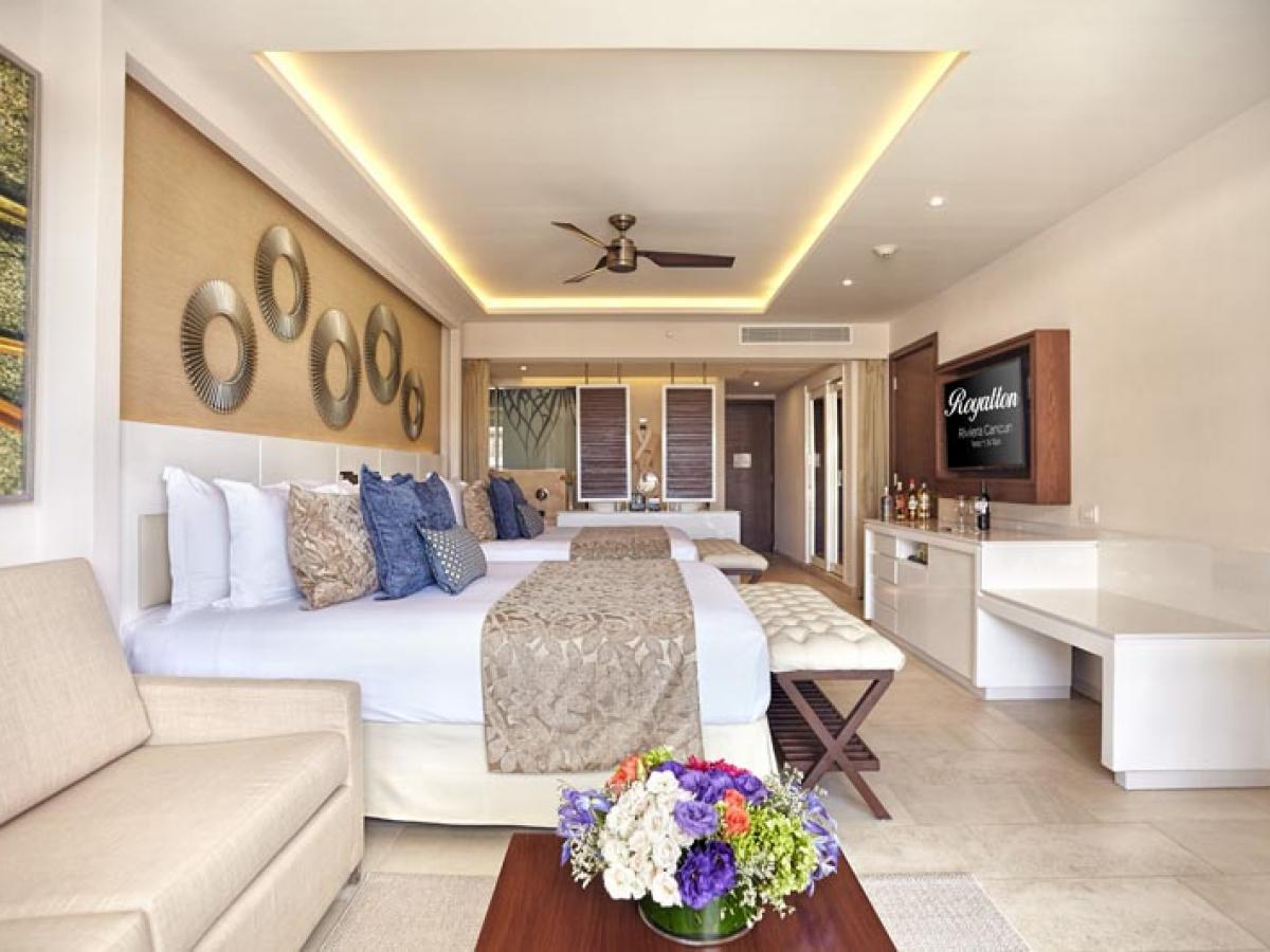 Hideaway Royalton Riviera Cancun Mexico - Luxury Junior Suite