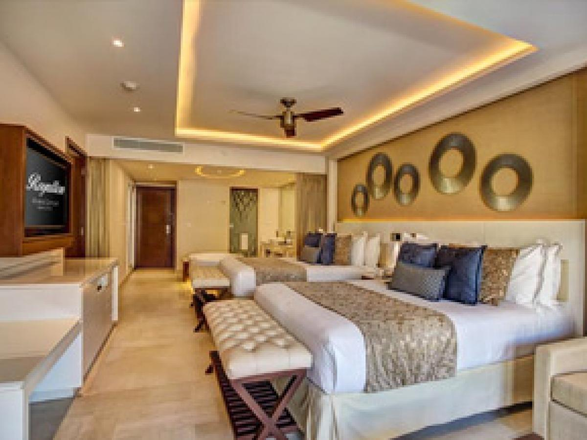 Hideaway Royalton Riviera Cancun Mexico - Luxury Suite with Terr