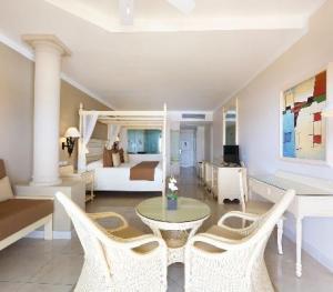 Luxury Bahia Principe Akumal Mexico - Junior Suite Deluxe Ocean Front