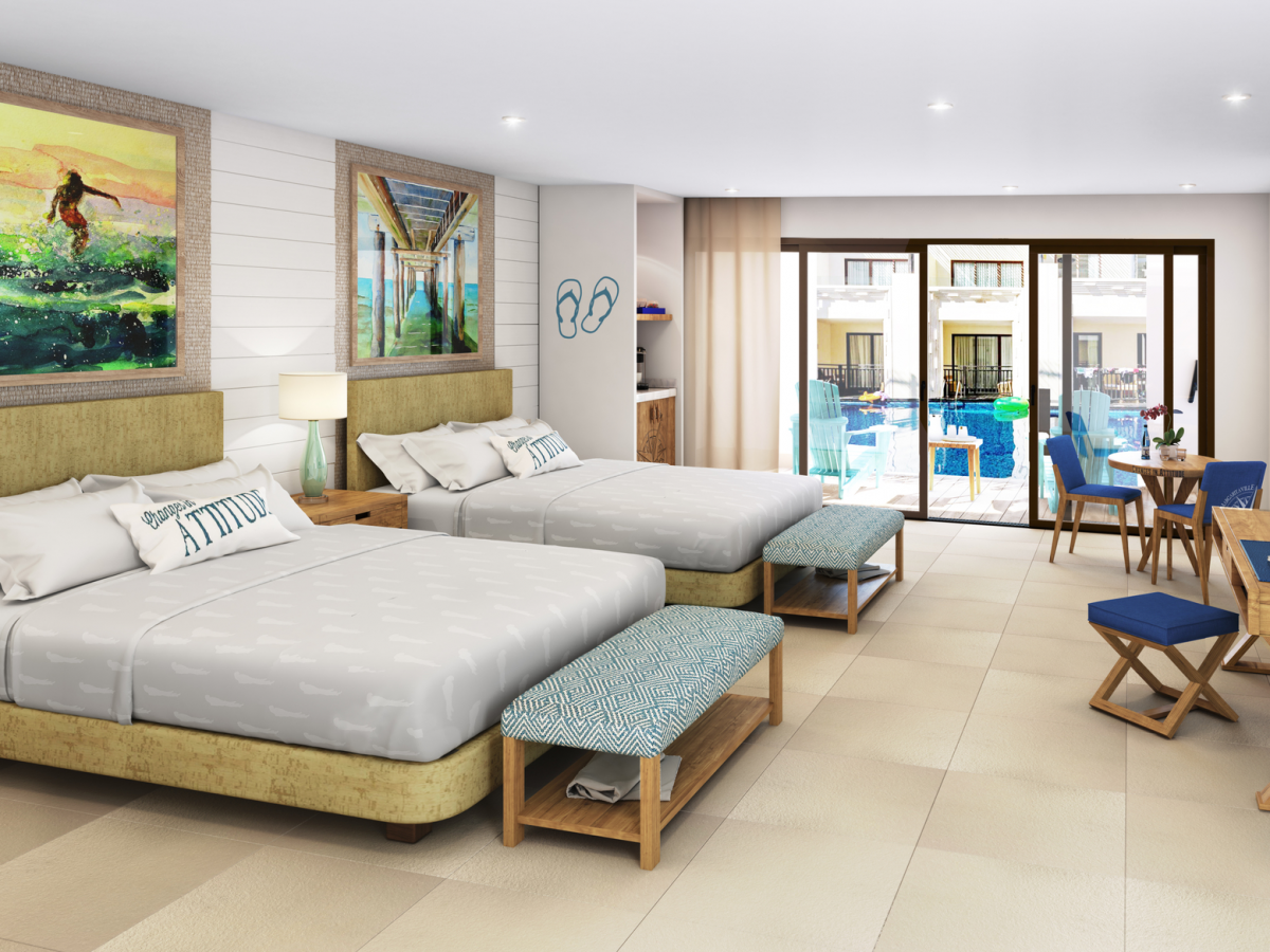 Margaritaville island reserve by karisma riviera cancun Paradise Junior Suite
