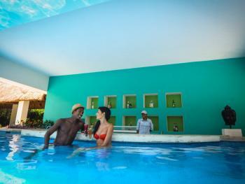Oasis Tulum Lite Riviera Maya Mexico - Swim Up Bar