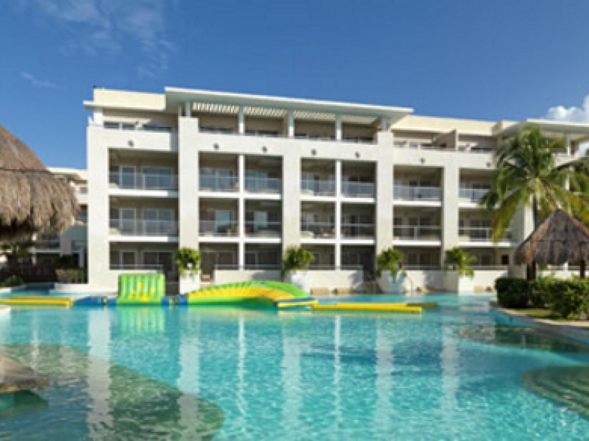 Paradisus Playa del Carment La Esmeralda - Bar Swim Up