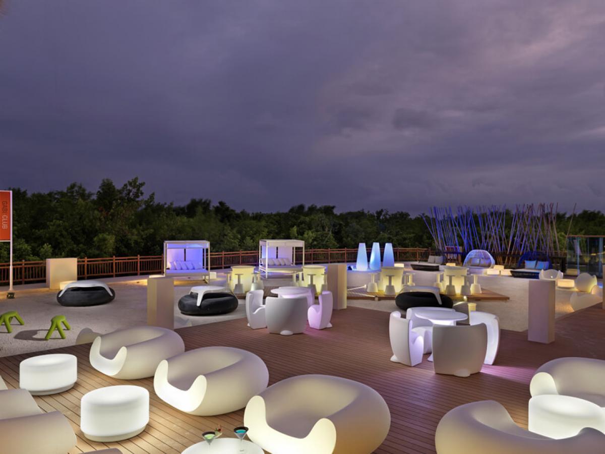 Paradisus Playa del Carment La Esmeralda - Gabby Club Bar
