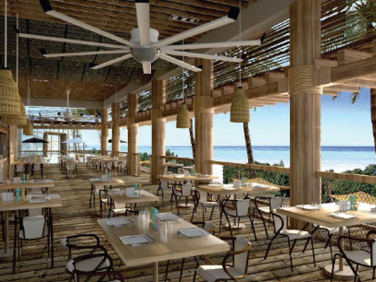 Royalton Riviera Cancun Mexico - Dorado Restaurant