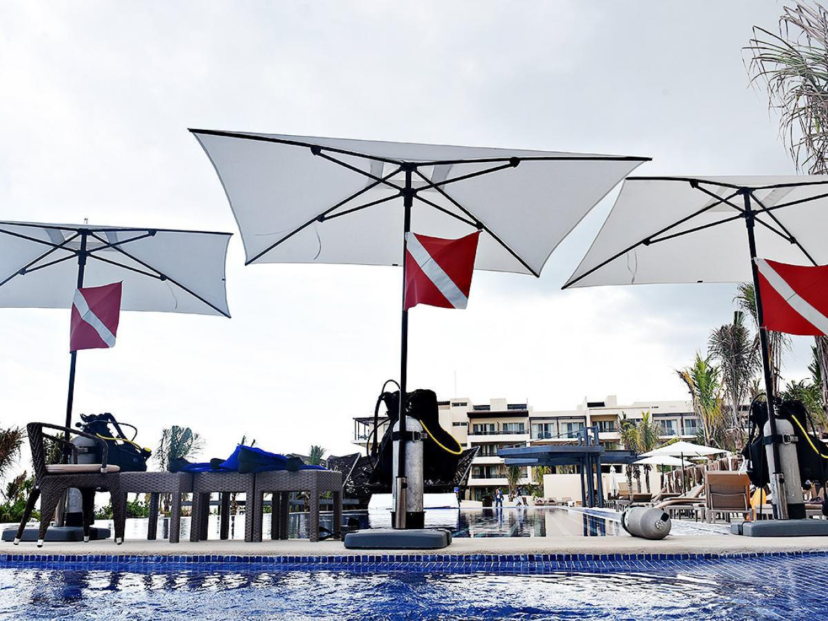 Royalton Riviera Cancun Mexico - Scuba