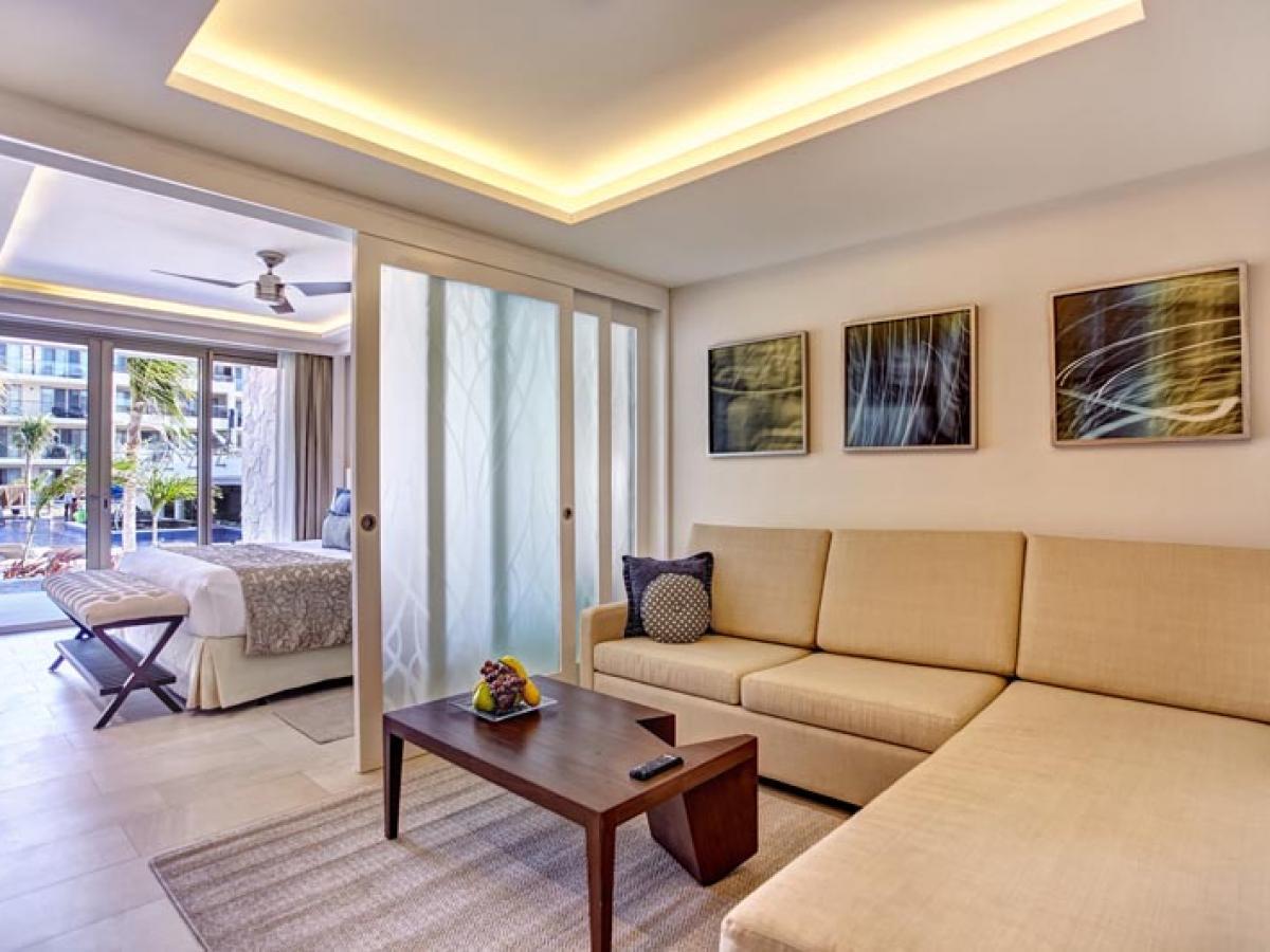 Royalton Riviera Cancun Mexico - Luxury  Family Suite Swim Out