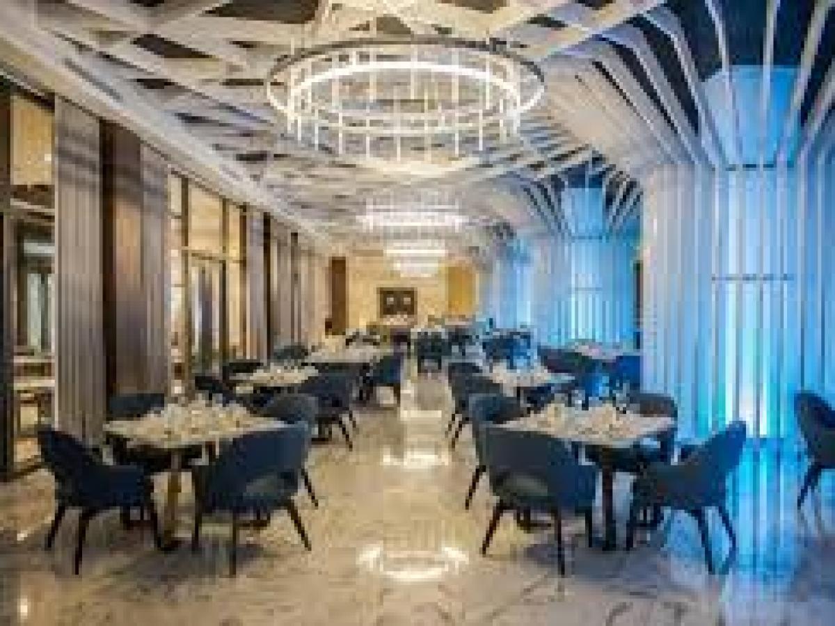 Royalton Riviera Cancun Mexico - Gourment Marche Restaurant
