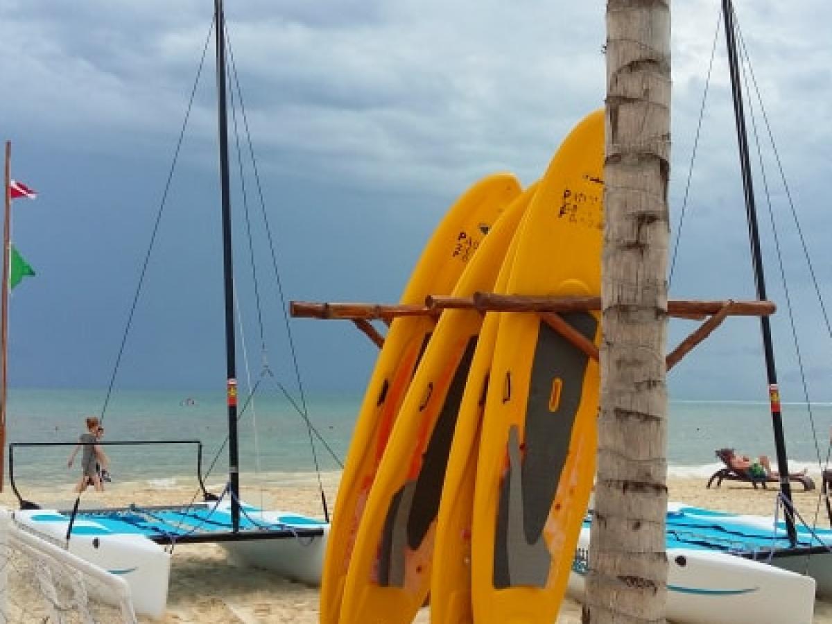 Royalton Riviera Cancun Mexico -  Non-motorized Water Sports