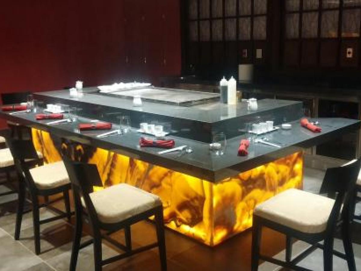 Royalton Riviera Cancun Mexico - Zen Japanese Restaurant