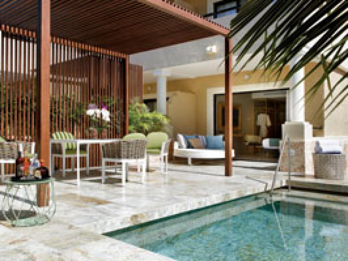 TRS Yucatan hotel suite private pool