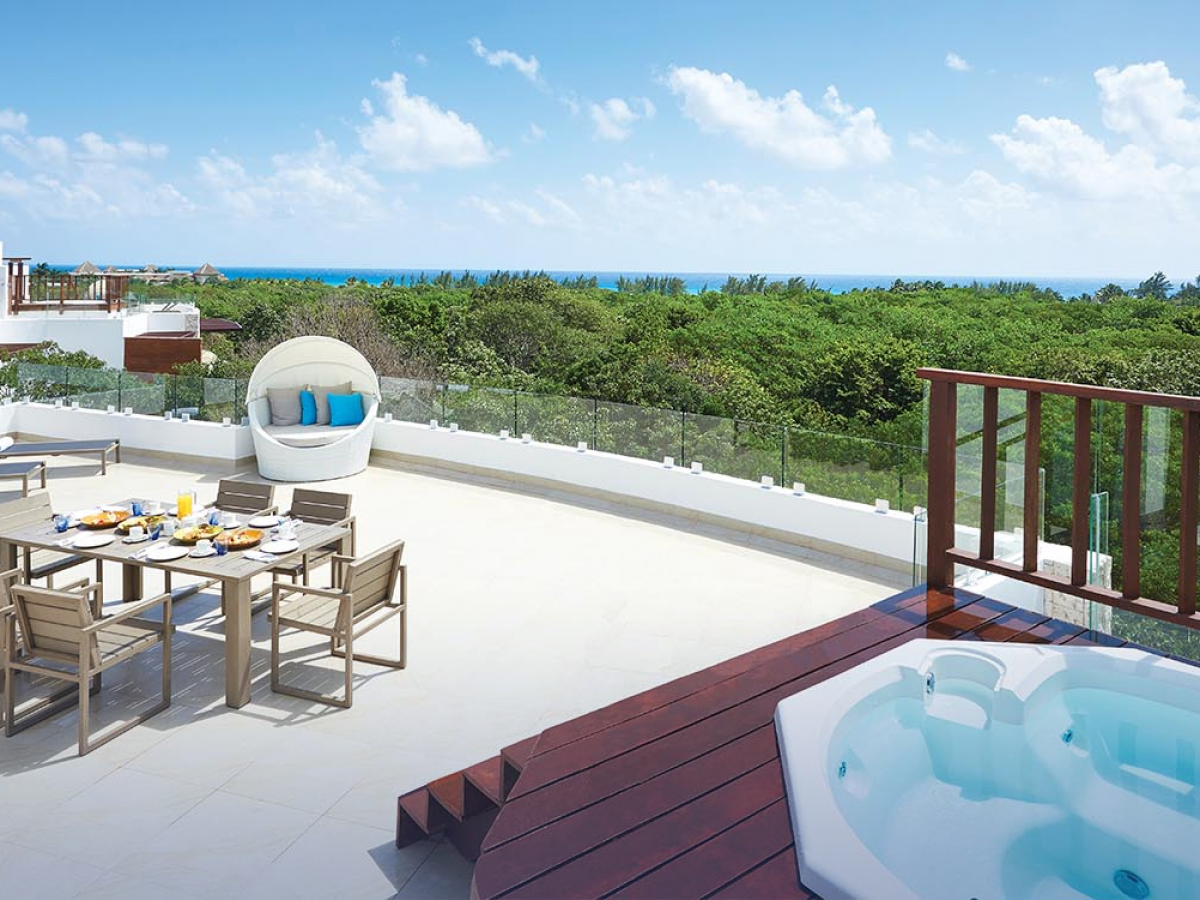 The Fives Azul Resort Playa del Carmen - 3 bedroom Penthouse Residence